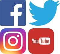 Social media portals.