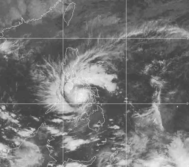 Marce by 5:00 AM on Nov. 25. It approaches northeastern Panay.